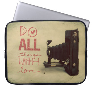 All things with Love Laptop Sleeve