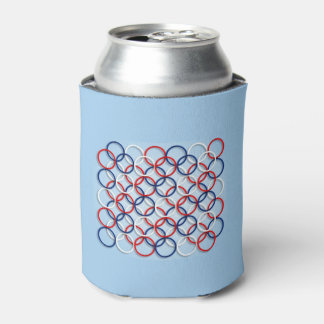 All Together July 4th Beverage Can Cooler