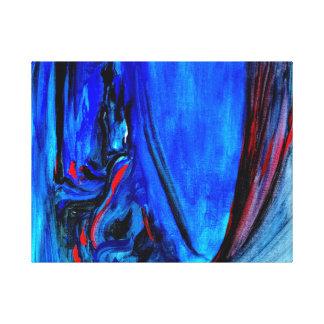 All Too Blue Canvas Print