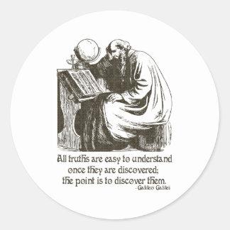 All Truths Classic Round Sticker