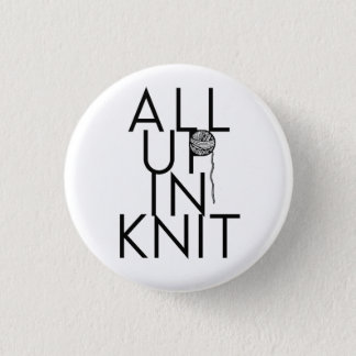 All Up In Knit 1 Inch Round Button