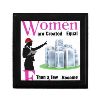 All Women Are Created Equal Then a Few Become Engi Gift Box