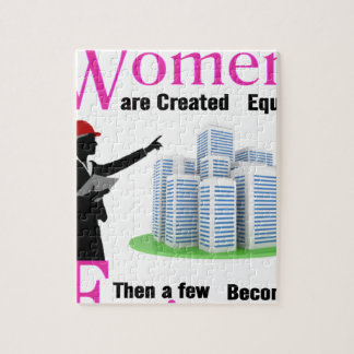 All Women Are Created Equal Then a Few Become Engi Jigsaw Puzzle