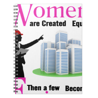 All Women Are Created Equal Then a Few Become Engi Notebooks