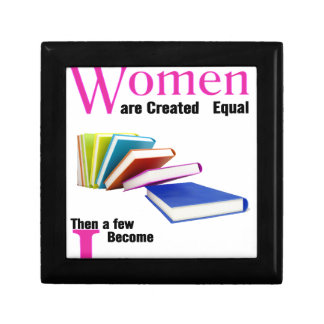 All Women Are Created Equal Then a Few Become Libr Gift Box