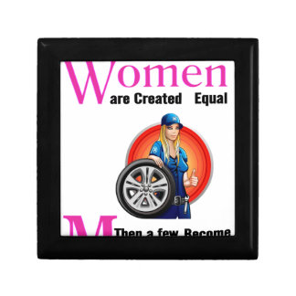 All Women Are Created Equal Then a Few Become Mech Gift Box
