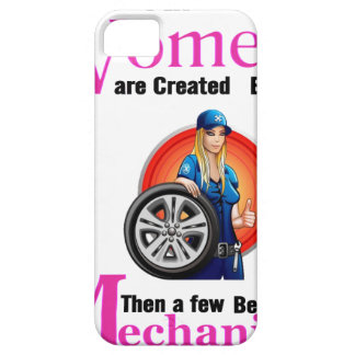 All Women Are Created Equal Then a Few Become Mech iPhone 5 Cases