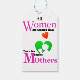All Women Are Created Equal Then a Few Become Moth Gift Tags