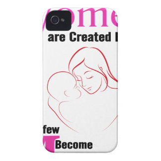 All Women Are Created Equal Then a Few Become Moth iPhone 4 Case-Mate Case
