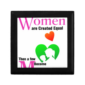 All Women Are Created Equal Then a Few Become Moth Jewelry Boxes