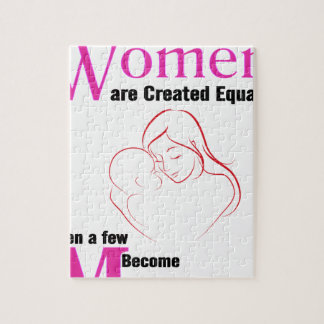 All Women Are Created Equal Then a Few Become Moth Jigsaw Puzzle