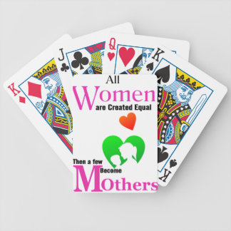 All Women Are Created Equal Then a Few Become Moth Poker Deck