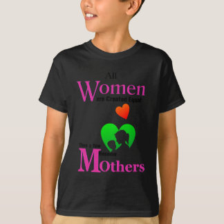 All Women Are Created Equal Then a Few Become Moth T-Shirt