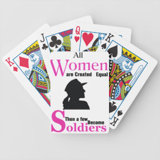 All Women Are Created Equal Then a Few Become Sold Bicycle Playing Cards