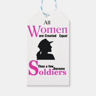 All Women Are Created Equal Then a Few Become Sold Gift Tags
