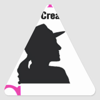 All Women Are Created Equal Then a Few Become Sold Triangle Sticker