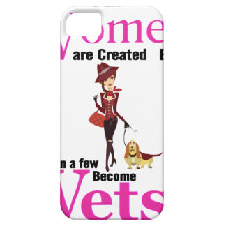 All Women Are Created Equal Then a Few Become Vets iPhone 5 Cases