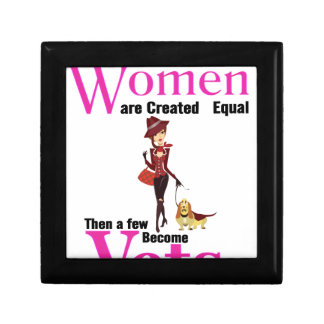All Women Are Created Equal Then a Few Become Vets Jewelry Box