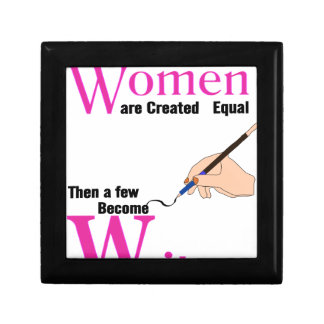 All Women Are Created Equal Then a Few Become Writ Gift Box