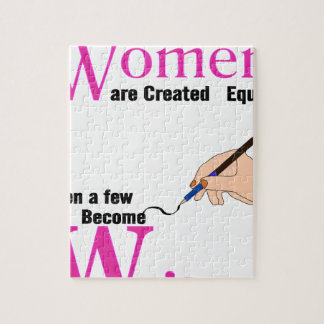All Women Are Created Equal Then a Few Become Writ Puzzle