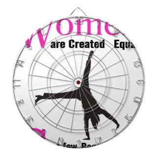All Women Are Created Equal Then a  GymnASTIC Dartboard