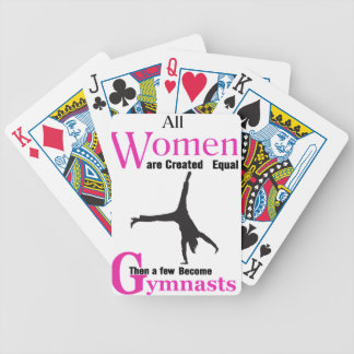 All Women Are Created Equal Then a  GymnASTIC Poker Deck