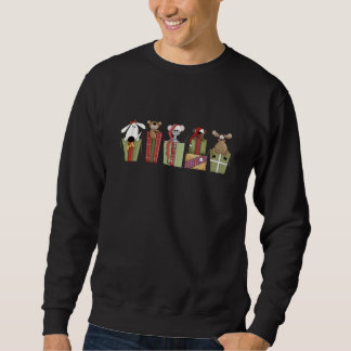 All Wrapped Up Christmas Sweatshirt