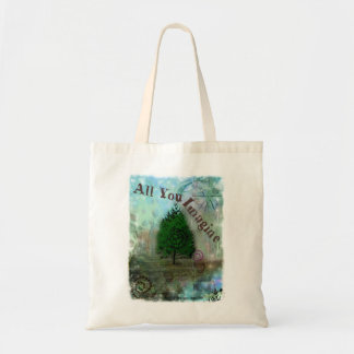 All You Imagine Tote Bag