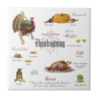All You Need For a Thanksgiving Feast Tile