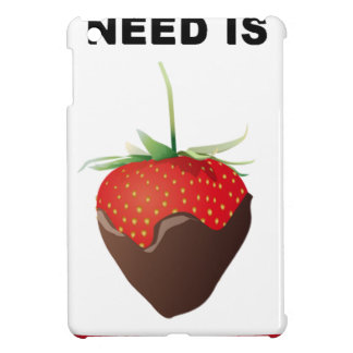 ALL YOU NEED IS CHOCOLATE CASE FOR THE iPad MINI