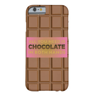 All You Need is Chocolate Phone Case