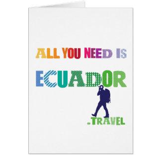 All You need Is Ecuador_Travel Card