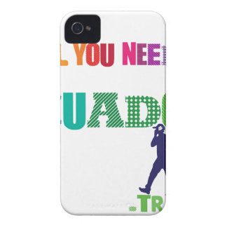 All You need Is Ecuador_Travel iPhone 4 Case-Mate Case