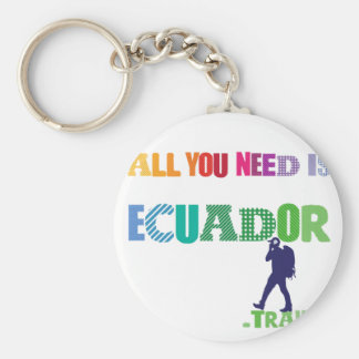 All You need Is Ecuador_Travel Keychain