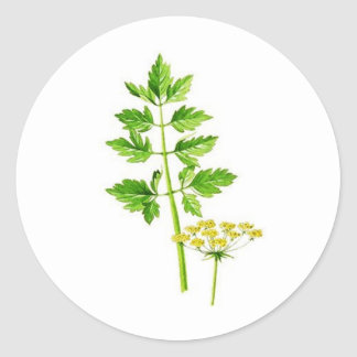 All you need is Lovage Classic Round Sticker
