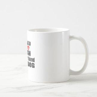 ALL YOU NEED IS LOVE American foxhound DOGS DESIGN Coffee Mug