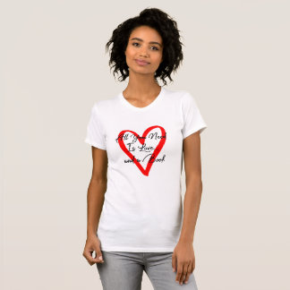 All You Need is Love and a Book Black Text T-Shirt