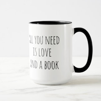 All You Need is Love and a Book Mug