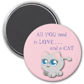 All You Need is Love . . . And a CAT Magnet