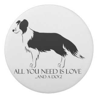 All You Need Is Love And A Dog! Eraser