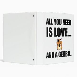 All You Need Is Love And A Gerbil Binder
