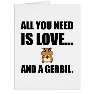 All You Need Is Love And A Gerbil Card