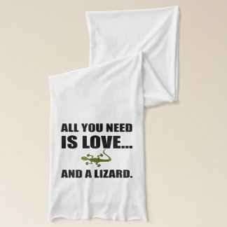 All You Need Is Love And A Lizard Scarf