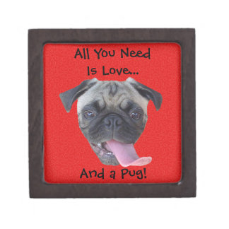All You Need is Love and a Pug Premium Gift Boxes