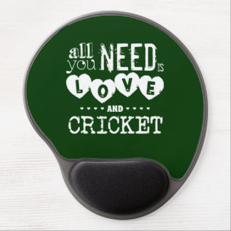 All You Need is Love and Cricket Gel Mouse Pad