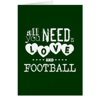 All You Need is Love and Football Card