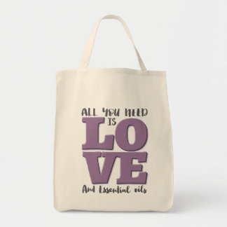 All you need is LOVE and OILS Tote Bag