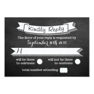 "All You Need Is Love Chalkboard Wedding Collection 3.5"" X 5"" Invitation Card"