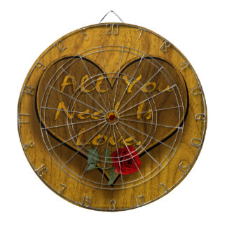 All You Need is Love Dartboard
