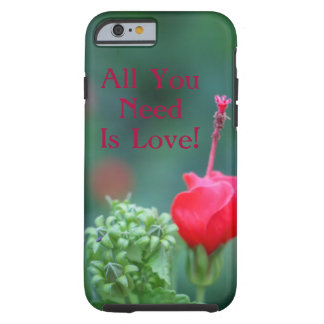 All You Need Is Love Flower iPhone 6/6s Case